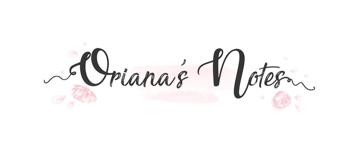 Oriana's Notes